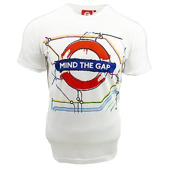Licensed tfl™103c unisex artistic mind the gap™ t shirt white-new