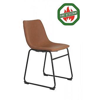 Light & Living Dining Chair 55x45x79cm Jeddo Fr Braun