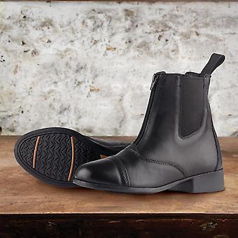 Dublin Womens Elevation II Zip Paddock Boots Jodhpur Breathable Moisture Wicking