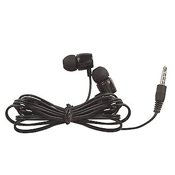 3.5mm Inner Ear Stereo Earphones (Black)