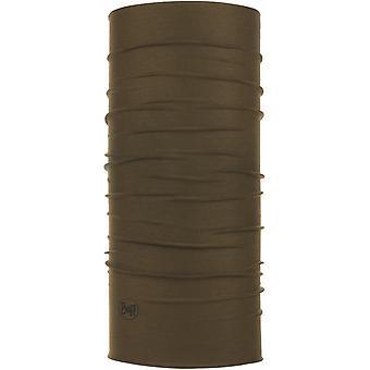 Buff Unisex Solid Military CoolNet UV+ Insect Shield Tubular Bandana Scarf Khaki
