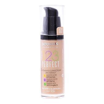 Fluid Foundation Make-up 123 Perfect Bourjois Spf 10/55 - Mörk Beige - 30 ml