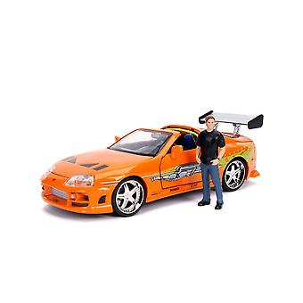 Fast & Furious 1995 Toyota Supra 1:24 Brian Hollywood Ride