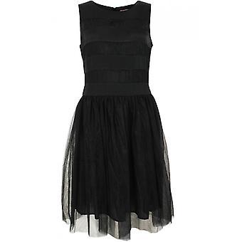 Inwear Black Lace Detailed Skater Dress