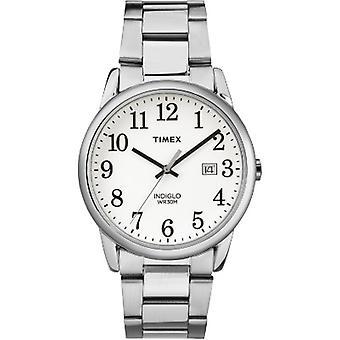 Tw2R23300, Orologio braccialetto d'argento Timex Mens Tw2R23300 Easy Reader