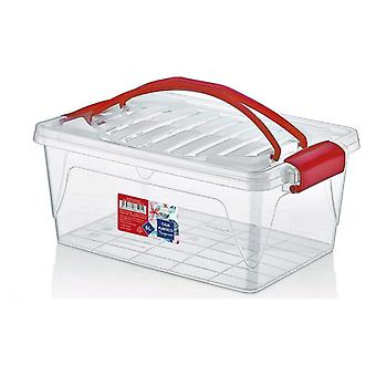 Storage Box with Lid Confortime/20 x 30 x 12,5 cm - 5 L