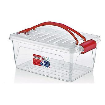 Úložná škatuľa s vrchnákom Confortime/20 x 30 x 12,5 cm - 5 L