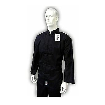 Yamasaki Kung Fu Uniform Black Trim 10 Oz
