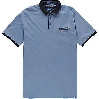 D555 Flint Stripe Polo Shirt Mens