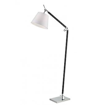 Chrome Floor Lamp 3 Bulbs