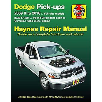 Dodge Pick-Ups 2009 Thru 2018 Haynes Repair Manual - Full-Size Models