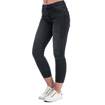 Women's Only Daisy Push Up Skinny Jeans in Black