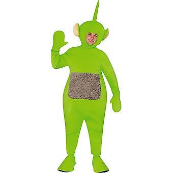 Teletubbies Dipsy traje para adultos