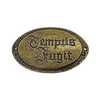Tempus fugit plaque ornate
