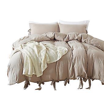 YANGFAN Soft Bedding Quilt Cover Set With Pillow Case