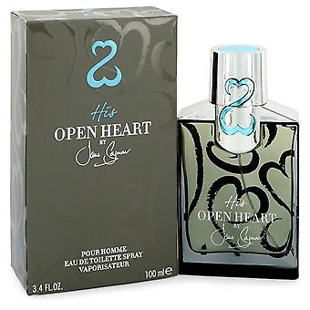 His Open Heart by Jane Seymour Eau De Toilette Spray 3.4 oz / 100 ml (Men)