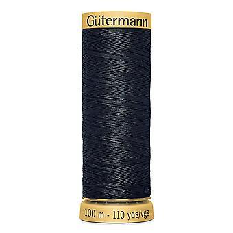 Gutermann 100% Natural Cotton Thread 100m Code couleur main et machine - 5902