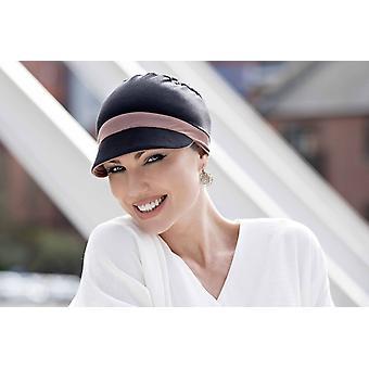 Katia | Black & Lilac Reversible Cap