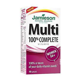 Multi 100% Complete Women 50+ 90 tablets