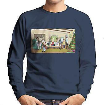 Rick and Morty Technology Takeover Men's Sweatshirt