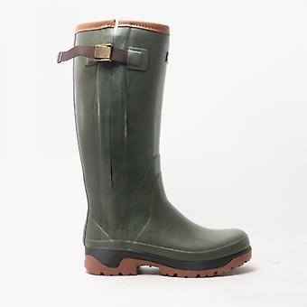Goodyear Delta Mens Rubber Full Zip Wellington Boots Vert
