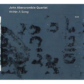 John Abercrombie Quartet - Within a Song [CD] USA import