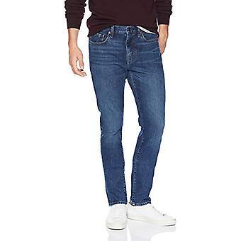 Essentials Men's Skinny-Fit Stretch Jean, Medium Wash, 30W x 32L