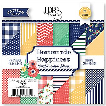 LDRS Creative Homemade Happiness 6x6 Inch Paper Pack