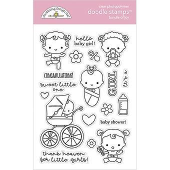 Doodlebug Design Bundle joy doodle -postimerkkejä