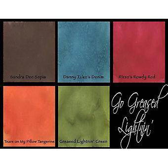 Lindy's Stamp Gang Go Greased Lightnin' Magical Flat Set