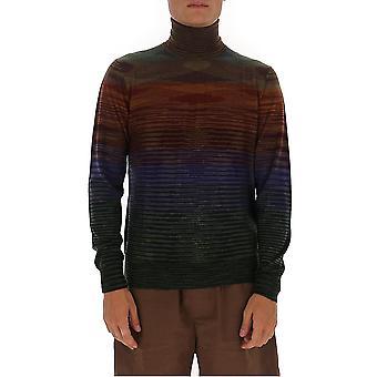 Missoni Mun00143bk00m0s203t Men's Multicolor Wool Sweater