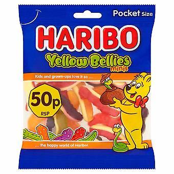 HARIBO YellowBellies 1.4kg, Bulk Sweets, 20 packs x 70g