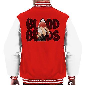 Blood Beads Code Vein Men's Varsity Jacket