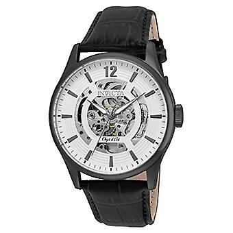 Invicta  Objet D Art 22597  Leather  Watch