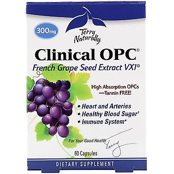 Terry Naturally, Clinical OPC, 300 mg, 60 Capsules