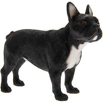 Best Breed Dog Standing French Bulldog Black Ornament