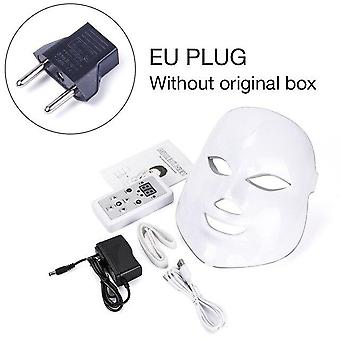 Photon Electric Led Facial Mask With Neck Skin Rejuvenation Anti Wrinkle Acne Remover Tool