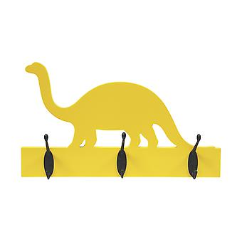 Yellow Dinosaur with Black Hooks