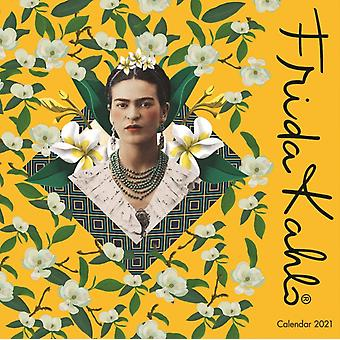 Frida Kahlo Mini Wall kalender 2021 Art Calendar door Gemaakt door Flame Tree Studio