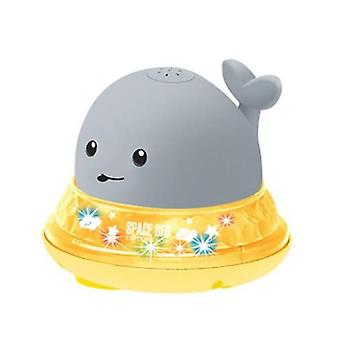 Baby Whale Shape Led Light - Elektrische inductie sprinkler spray speelgoed