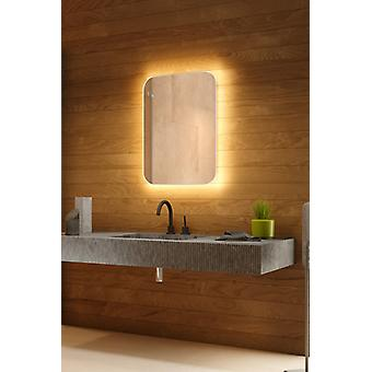 RGB k757 Backlit Mirror with Sensor, Demister and Shaver socket