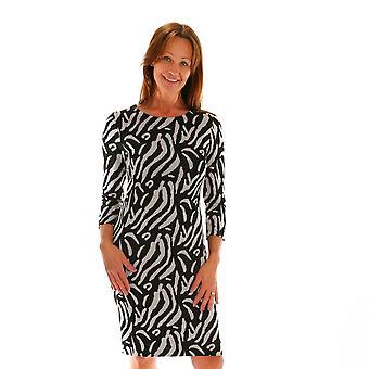 POMODORO Pomodoro Grey Dress 52065