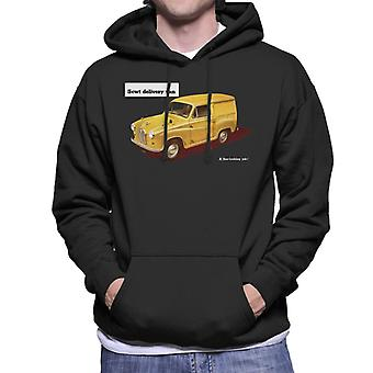 Austin 5cwt Delivery Van British Motor Heritage Men's Hooded Sweatshirt