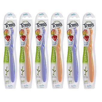 Tom's Of Maine Children's Soft Toothbrush Single, 1 Peace