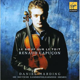 Renaud Capucon - Le Boeuf Sur Le Toit: French Works for Violin & Orchestra [CD] USA import