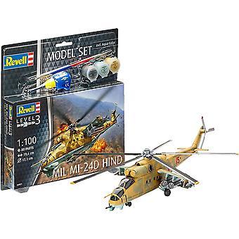 Revell 64951 Mil Mi-24D Hind Model Set