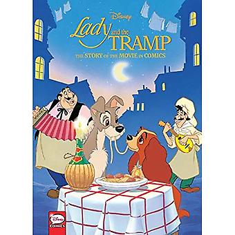 Disney Lady and the Tramp: A História do Filme nos Quadrinhos