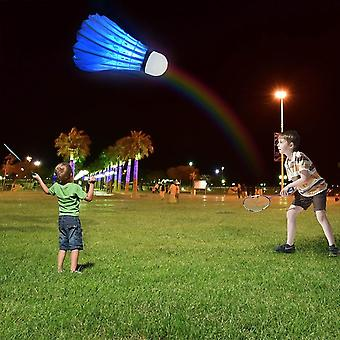 Badminton Led Shuttlecock para Dark Night Sport
