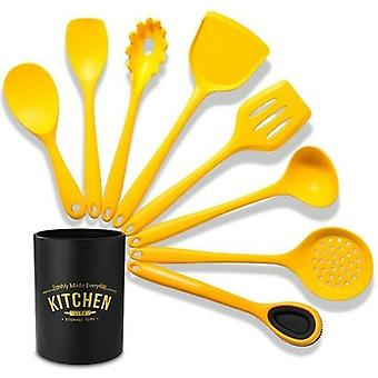 Silicone Cooking Utensils Set Food Grade Non Stick Butter Scraper
