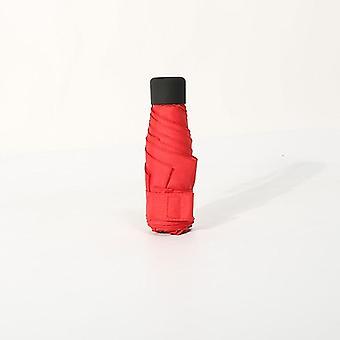 المرأة جيب مصغرة مظلة المطر سيدة Windproof دائم 5 ade للطي